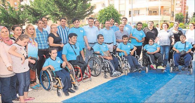 Çukurova'da engelliler için havuz inşa edildi