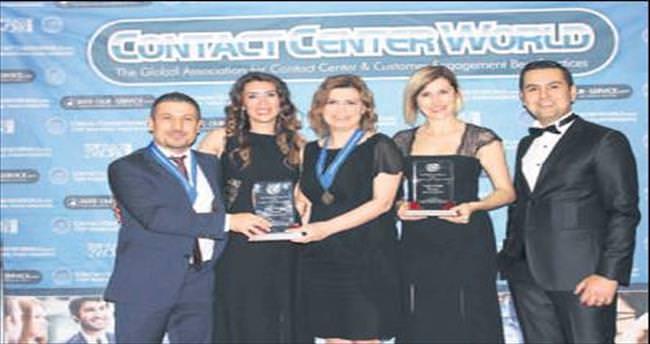 Turkcell'e iki birincilik ödülü