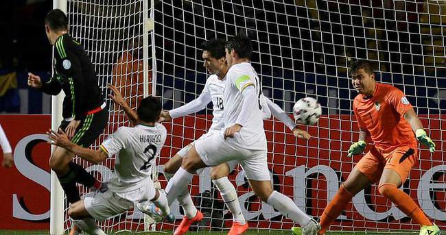 Meksika - Bolivya maçından gol çıkmadı