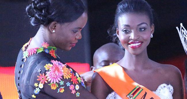 Zimbabve güzelinin tacı geri alındı
