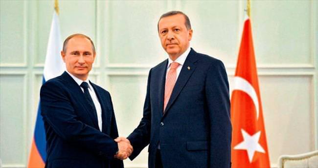 Putin'le Suriye ve Kırım'ı konuştu