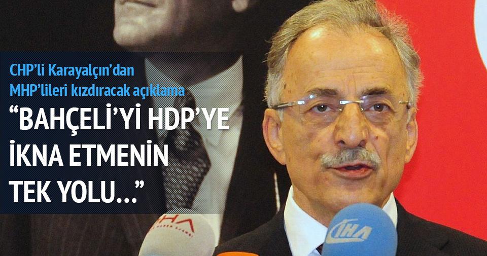 Bahçeli'yi HDP'ye ikna etmenin tek yolu...