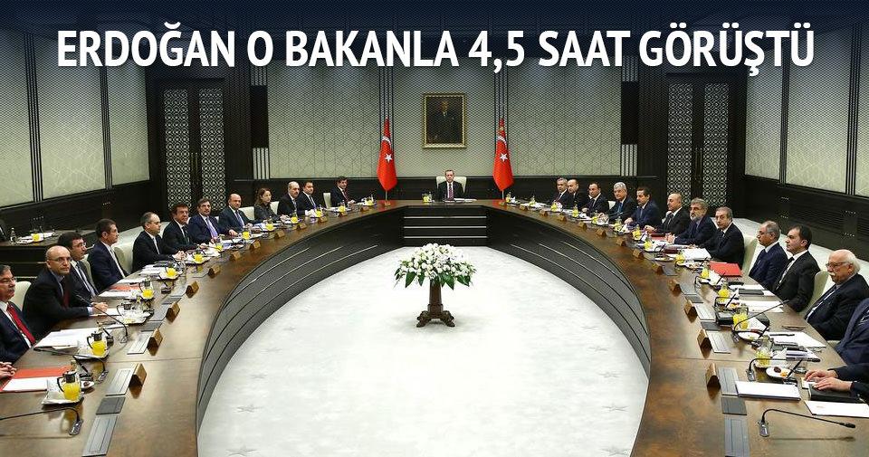 Cumhurbaşkanıyla 4,5 saat özel görüşme
