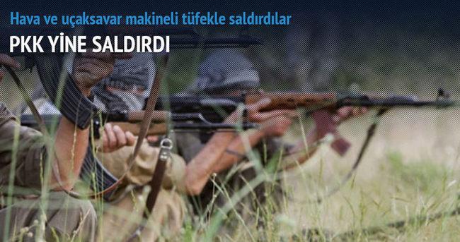 PKK'dan Dağlıca'da askeri üsse saldırı