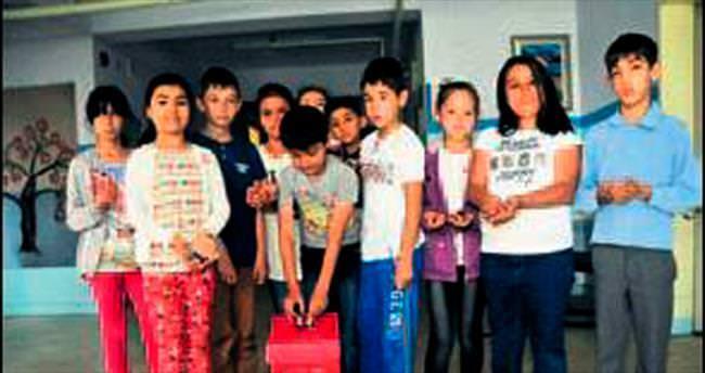 Öğrenciler iki ayda 2 ton atık pil topladı
