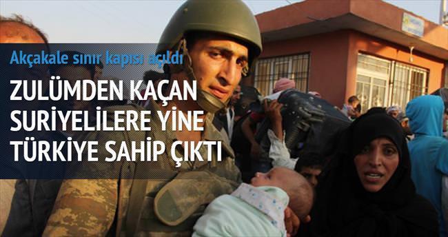 IŞİD engelledi Türkiye kapıyı açtı