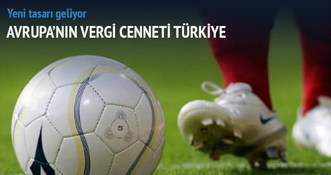 Futbolda Avrupa'nın vergi cenneti Türkiye