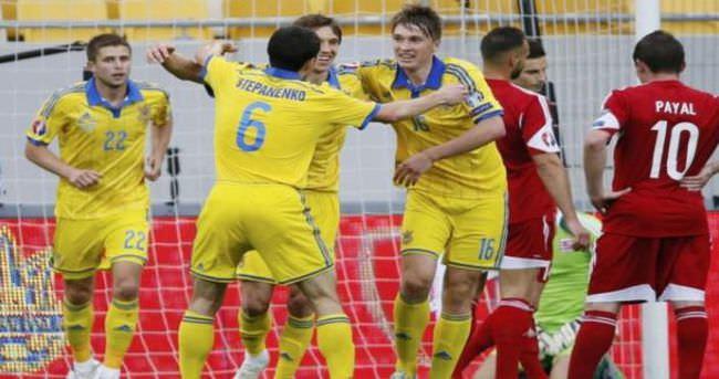 Euro 2016 elemelerinde toplu sonuçlar
