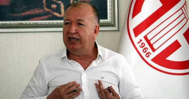 Antalyaspor Başkanı'ndan 3 bomba birden!