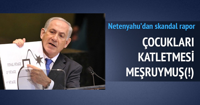 İsrail'e göre bin 500 sivilin ölmesi talihsizlikmiş!