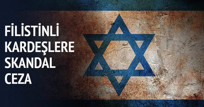 Filistinli kardeşlere 119'ar yıl hapis