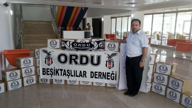 Beşiktaşlılardan Örnek Davranış