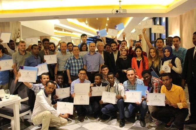 Uluslararası Öğrencilere Sertifika Töreni