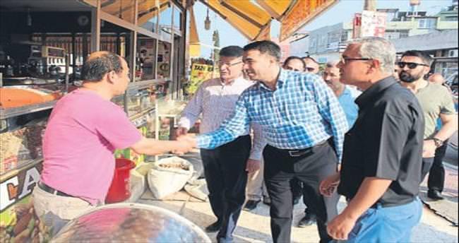AK Partililerden teşekkür ziyareti