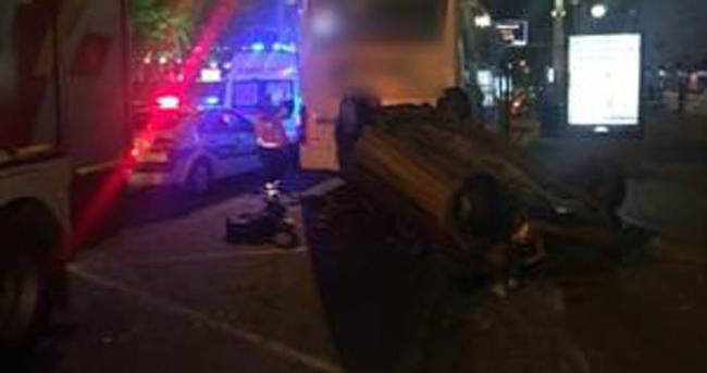 Ankara'da feci kaza: 6 yaralı