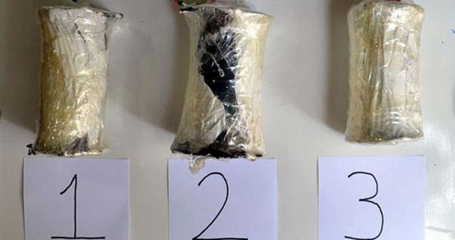 Diyarbakır'da PKK'lı çantasında bomba ile yakalandı