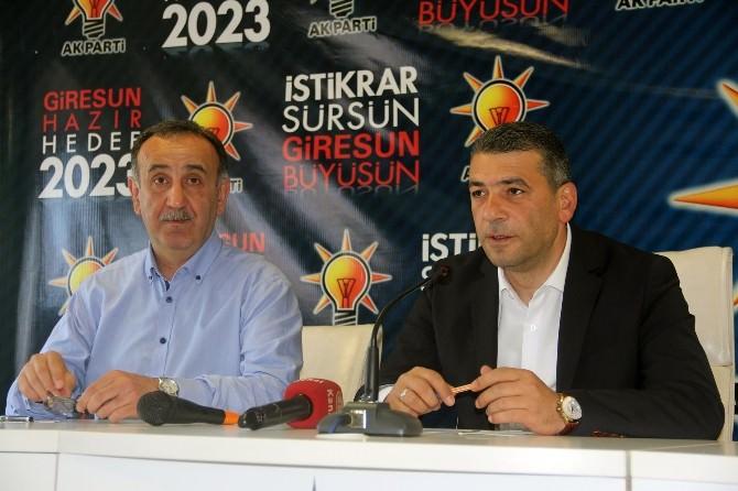AK Parti Giresun İl Başkanı Hasan Ali Tütüncü: