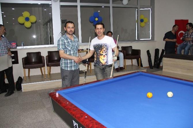 Akyazı Amatör Spor Kulüpleri Lokali 3 Bant Bilardo Açılış Turnuvası Yapıldı