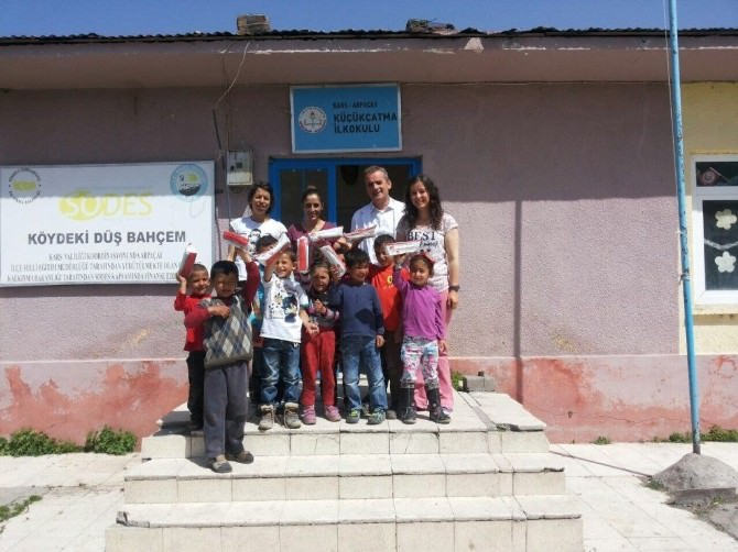 Arpaçay'da Miniklere Ağız-diş Sağlığı Taraması Yapıldı