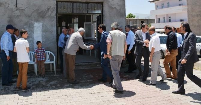Kaymakam Erkan'dan Irgat Ailesine Taziye Ziyareti