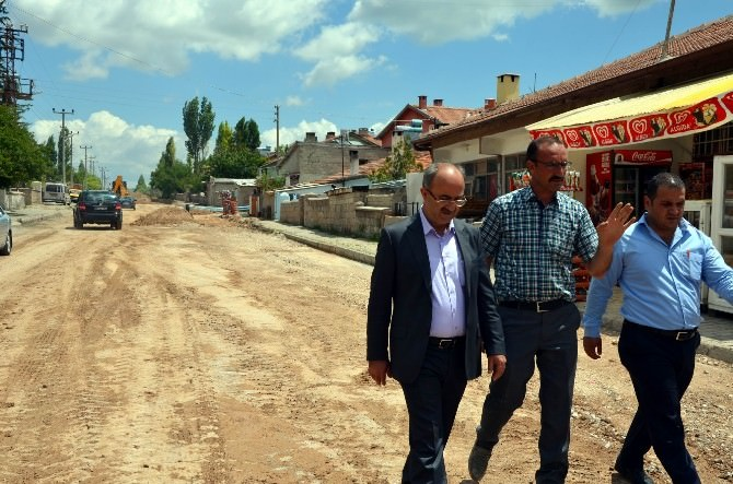 Bünyan Mehmet Özcan Caddesi'nde Altyapı Sorunu Kalmadı
