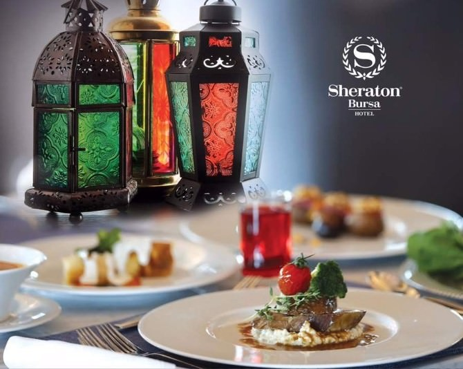 Sheraton Bursa'da İftar Keyfi