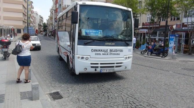 Çanakkale'de Halk Otobüsleri Yaz Tarifesine Geçti