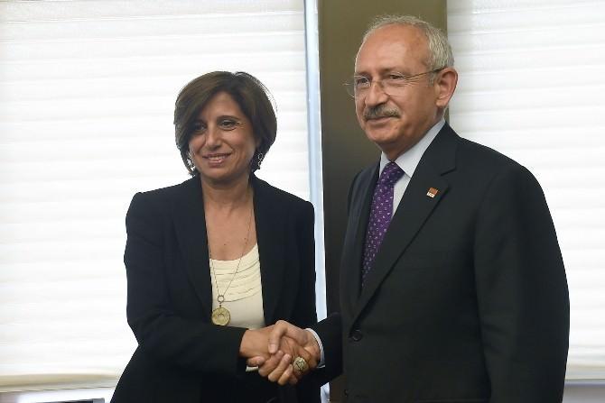CHP Genel Başkanı Kılıçdaroğlu, Tüsiad Heyetini Kabul Etti