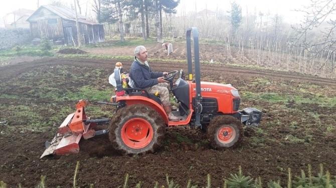 Doğu Karadeniz'de Traktör Sayısı Arttı