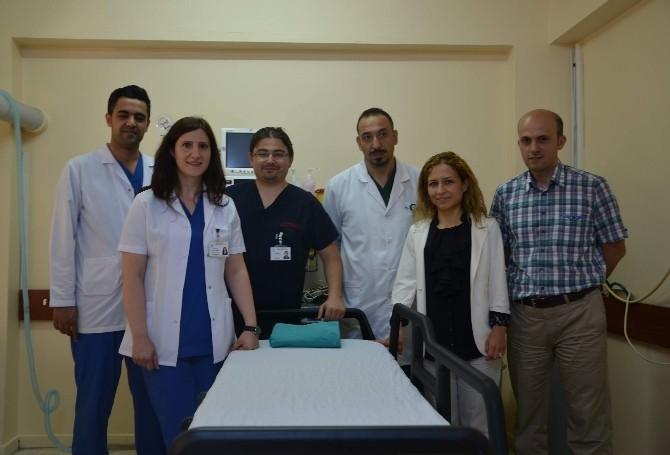 Çorum Eğitim Ve Araştırma Hastanesin'de Ekt Tedavisi Başladı