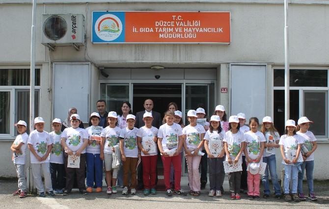 Düzce'de Lider Çocuk Tarım Kampı