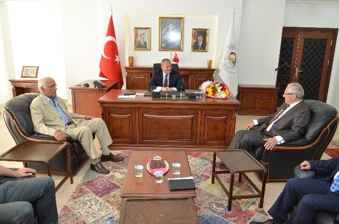 Düzdef Yönetiminden Başkan Keleş'e Ziyaret