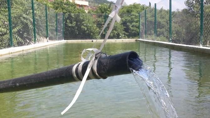 Muratoba Sulama Havuzu Tamamlandı
