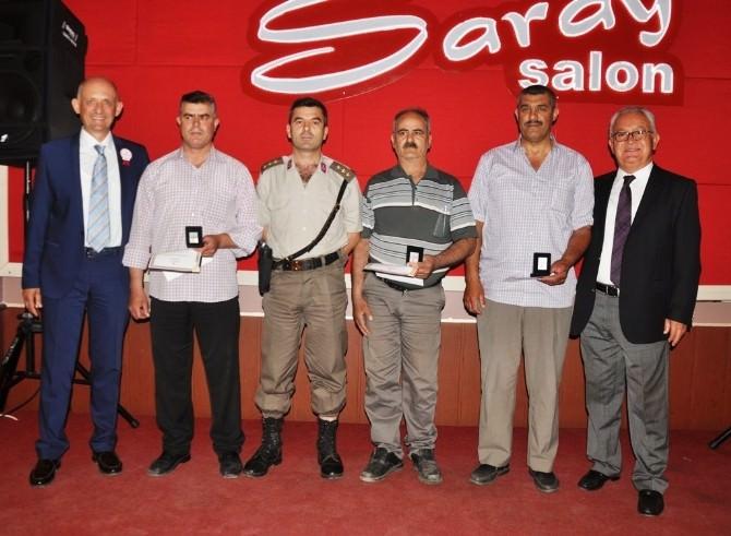 Ödemiş'te Rekortmen Kan Bağışçıları Ödüllerini Aldı