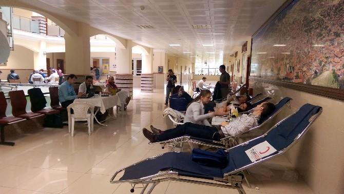 Adliye Personelinden Kan Bağışı Kampanyasına Destek