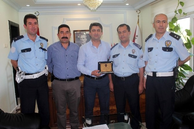 Emniyet Müdürü Şahin Beyşehir'e Veda Etti