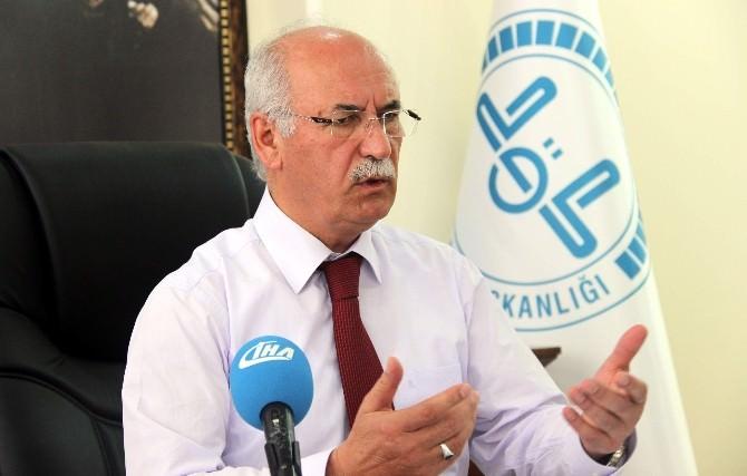 Müftü Hacı Yusuf Gül: Ramazan, Af, Mağfiret, Feyz Ve Bereketlerle Donatılmış Bir Aydır