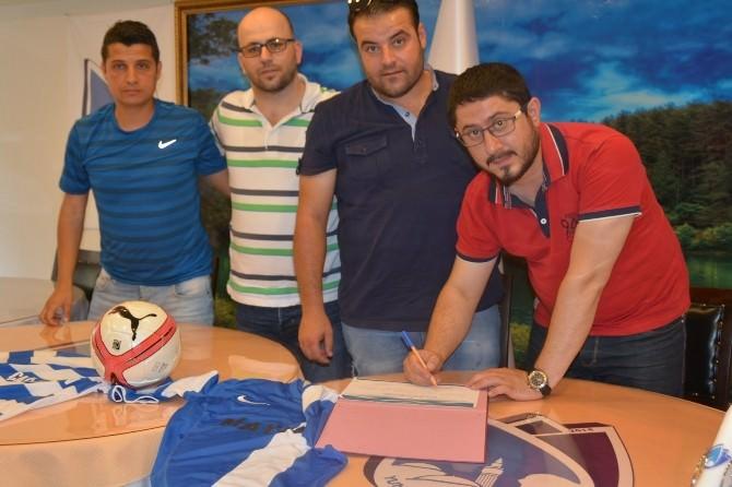 Yunusemre Belediyespor, Antrenörleri İle Sözleşme İmzaladı