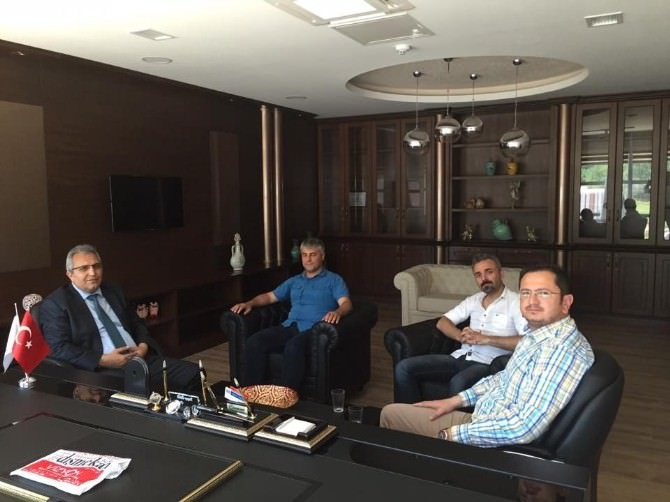 Kaymakam Yapıcı Ve Fatso Başkanı Karataş'tan OSB'ye Ziyaret