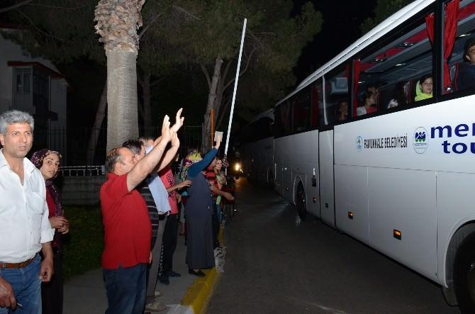 Denizli'de 500 Öğrenci Çanakkale'ye Götürüldü