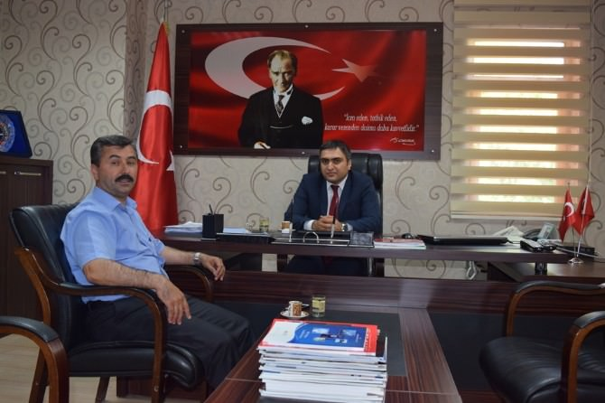 Başkan Erdoğan'dan Kaymakam Karaaslan'a Hayırlı Olsun Ziyareti