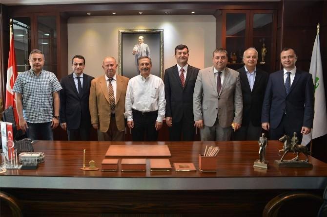 Sivrihisar Vakfı'ndan Başkan Ataç'a Ziyaret