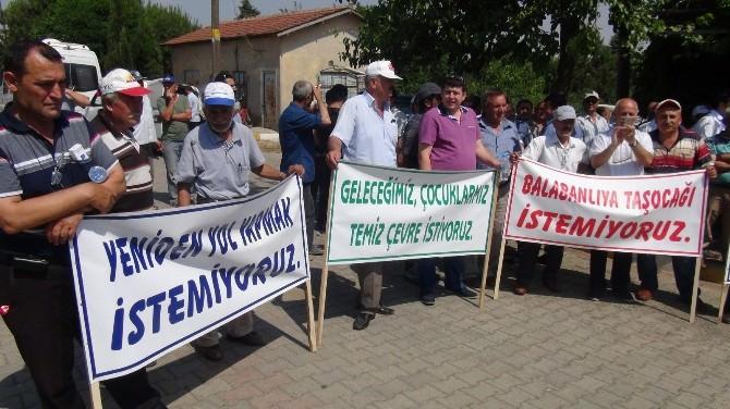 Tekirdağ'da Köylülerden 'Bozaltı Ocağı' Tepkisi