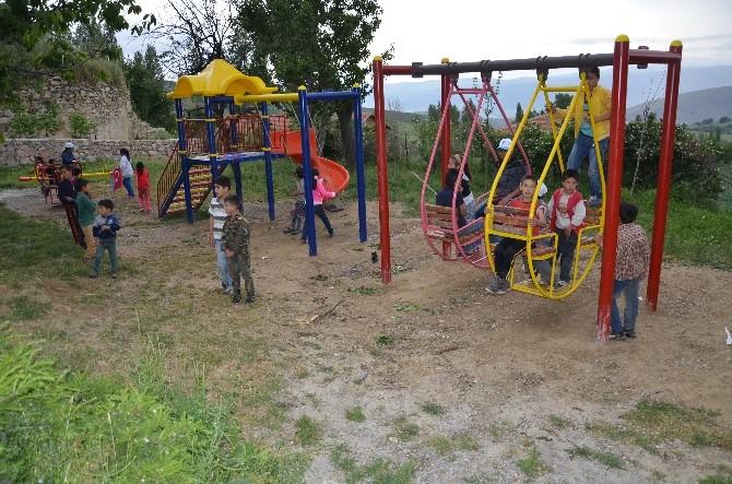 Tokat'ta 160 Köye Çocuk Oyun Parkı