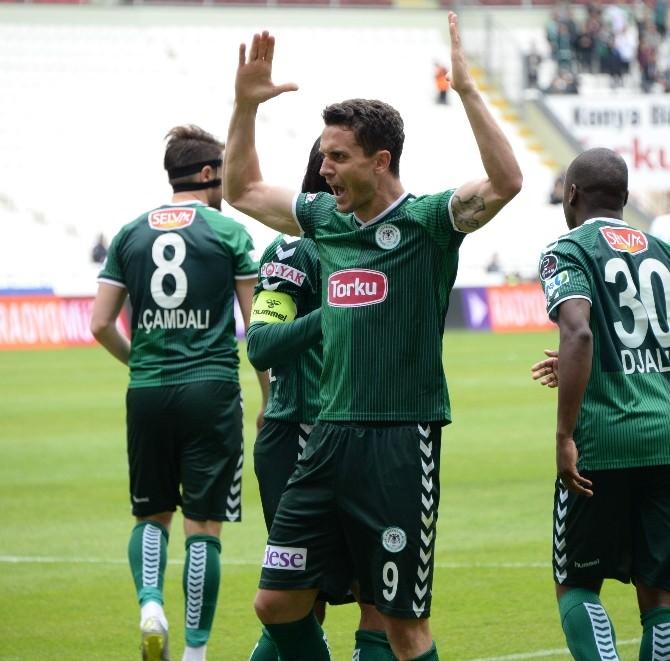 Rangelov 1 Yıl Daha Torku Konyaspor'da