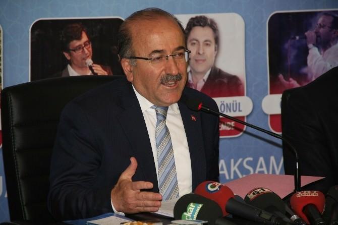 Trabzon Büyükşehir Belediye Başkanı Gümrükçüoğlu Basın Toplantısı Düzenledi