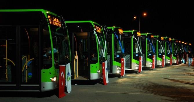 Ulaşım Filosuna 11 Yeni Otobüs