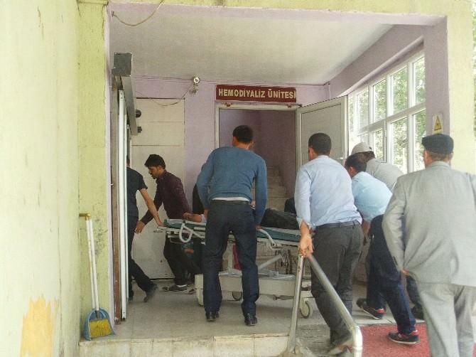 Özalp'ta Trafik Kazası; 1 Yaralı
