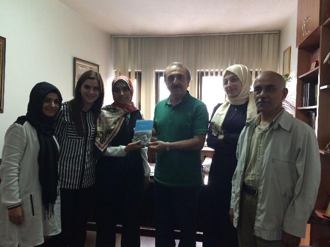 Zehra Taşkesenlioğlu'ndan Ervak'a Ziyaret