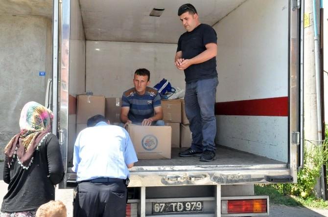 Kdz. Ereğli Belediyesi'nden 3 Bin 500 Kişiye Kumanya
